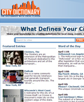 City Dictionary